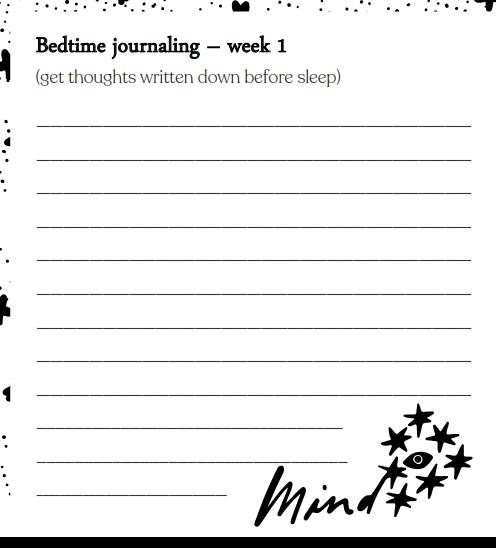 Somn Bedtime Journaling