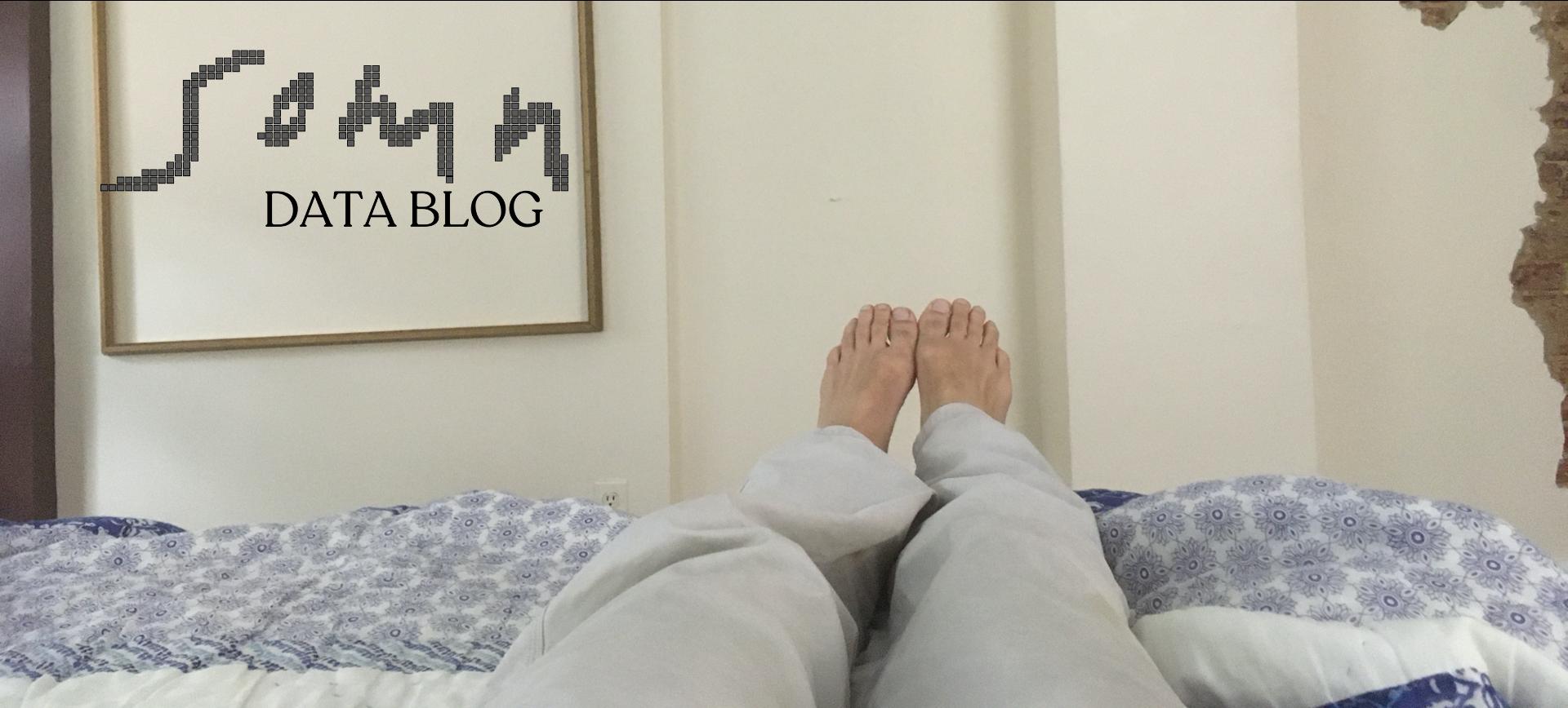 Bed Comfort and Sleep; Somn sleep data blog series